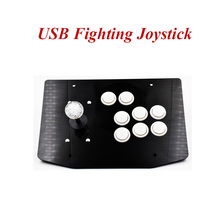 Arcade Joystick USB Fighting Stick Gaming Controller Gamepad Video Game For PC Desktop Computers цена и фото