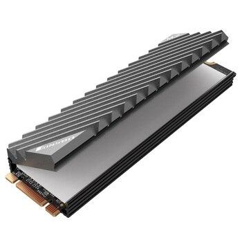 Jonsbo M.2 SSD NVMe Heat Sink M2 2280 Solid State Hard Disk Aluminum Heatsink with Thermal Pad Desktop PC Thermal Gasket 1