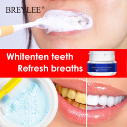 30~60g Teeth Whitening Powder Toothpaste Tools White Teeth Cleaning Oral Hygiene Toothbrush Gel Remove Plaque Stains