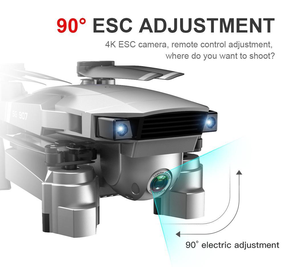 RCtown SG907 gps Дрон с камерой 4K 5G Wifi RC Квадрокоптер оптический поток складной мини Дрон 1080P HD камера Дрон - 4