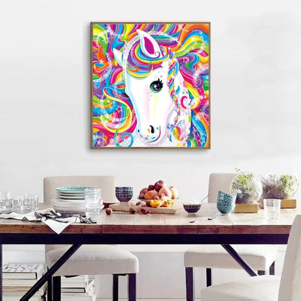 DIY 5D Diamond Painting Full drill Dolphin Embroidery Fashion Wall Decor 350Y