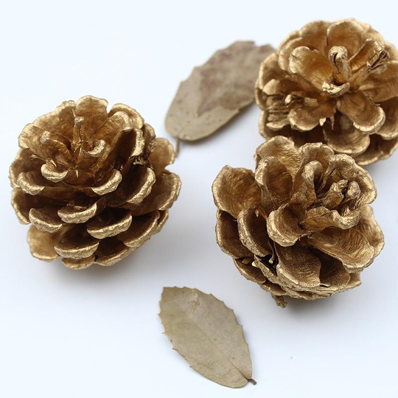 6cm 20 conos de pino natural de Tamaños Mezclados 4cm