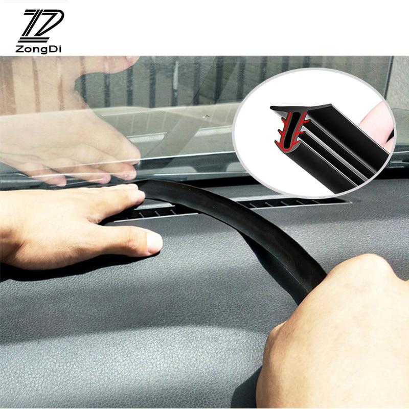 1.6M Car Dashboard Sealing Rubber Sound Seal Strip For Volkswagen Tiguan Touareg VW Polo Golf 5 7 6 Passat B6 B5 Mini Cooper