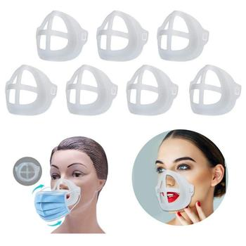 5pcs Breathable Lipstick Stand Breathable Breathing Space Increase Nose 3D Mask Bracket 1