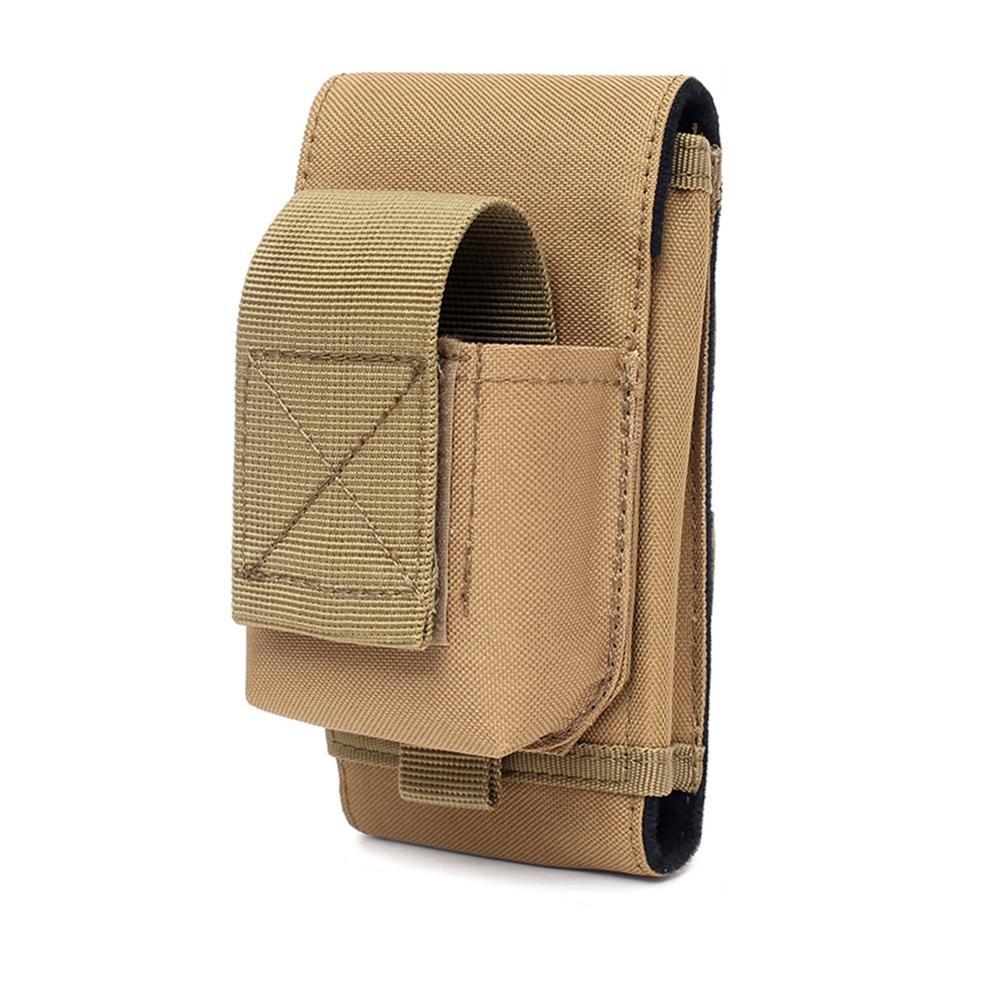 Sac de téléphone tactique extérieur MOLLE armée Camouflage Camouflage sac crochet boucle ceinture poche 1000D Nylon taille poche