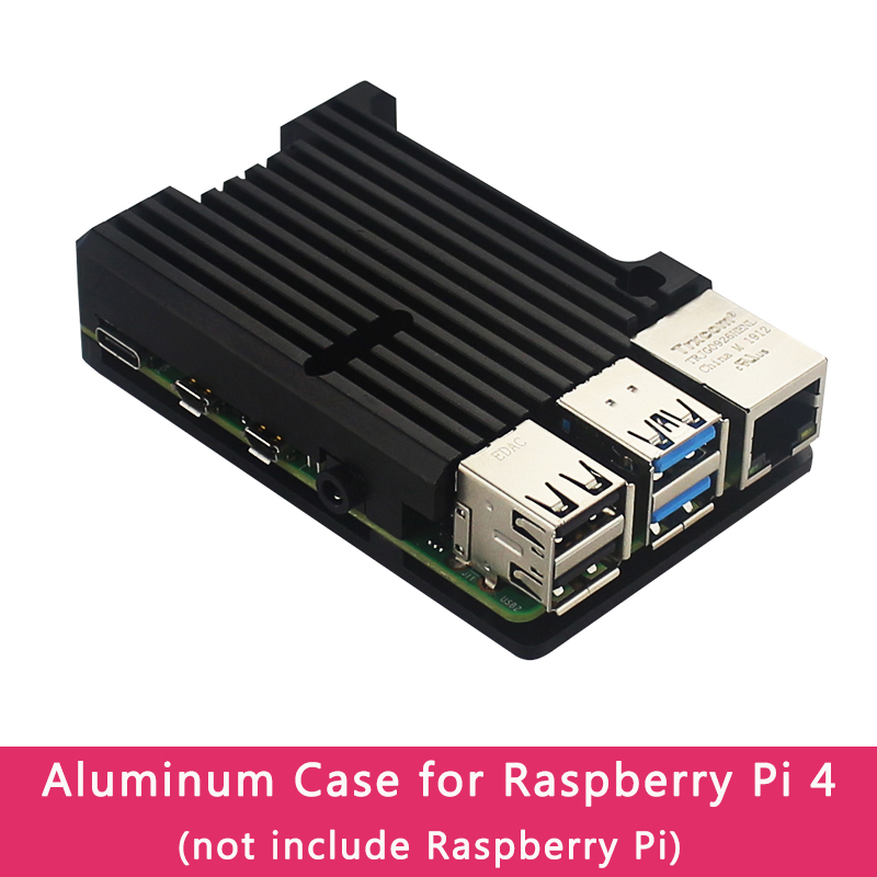 Raspberry Pi 4 Model B Aluminum Alloy Case CNC Box Housing For Raspberry Pi 4 Model B