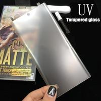 Vetro temperato Nano Liquid Full Glue per Xiaomi Mi CC9 10 Note 10 Pro 11 pellicola protettiva per schermo Ultra glassata UV Matte