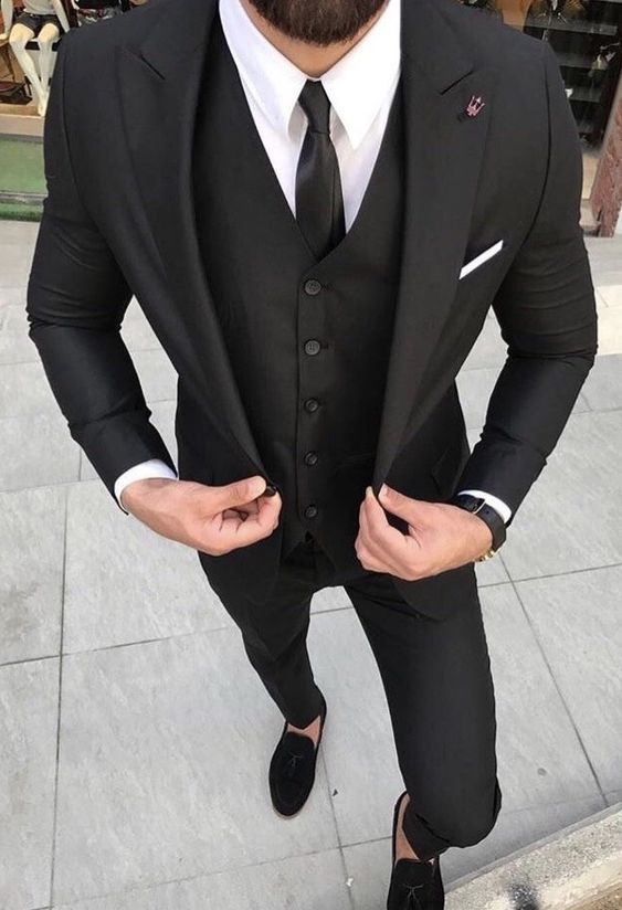 Black-Men-Suit-Slim-Fit-Street-Smart-Business-Party-Prom-Suits-3-Pieces-Tailored-Formal-Wedding