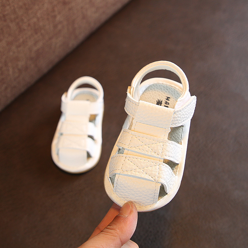 Double Star 2020 Baby Shoes Newborn Soft Non-slip White Toddler Shoes Breathable Comfortable Baby Moccasins For 1-3 Years