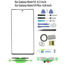 Screen Front Glass Lens Repair Kit for Samsung Galaxy Note 10 Plus Touch Screen Panel Front Outer Glass Lens Cover Replacement стоимость