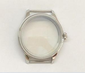 Image 2 - Parnis 44mm 316l caixa de relógio aço inoxidável caber 6497/6498 movimento vento mão mecânica 02