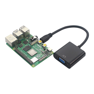 Image 5 - מיקרו HDMI ל vga ממיר זכר לנקבה כבל מתאם 3.5mm אודיו ג ק & USB כוח כבל עבור XBOX PS3/4 HD טלוויזיה פטל Pi 4