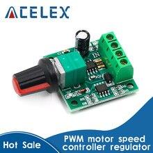 Contrôleur de vitesse de moteur PWM 1.8V, 3V, 5V, 6V, 12V, 2a, moteur basse tension, interrupteur de contrôle de vitesse PWM, Module d'entraînement réglable