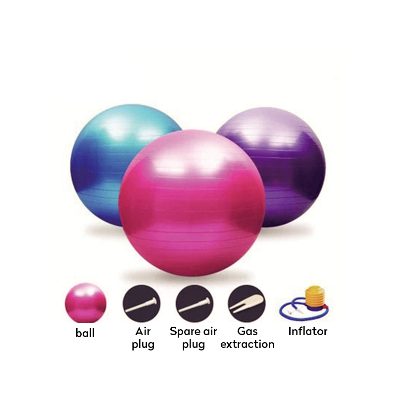 Anti-slip Exercise Ball Suitable for Pilates/Yoga/Gym to Build Muscles Strength 1