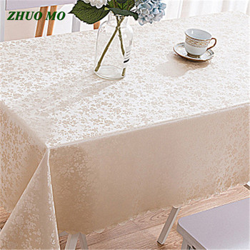 ZHUO MO New PU Waterproof Tablecloth Super PVC Table cloth art Table Cover Mat Kitchen Pattern Oil cloth Soft Cloth Tablecloth цена 2017