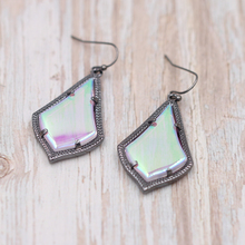 2020 Hot Selling  AB Crystal Shiny  Stone Inaly Water  Drop Earrings Small Disc Women Fashion Jewelry Wedding Gift Wholesale