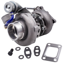 Turbo Turbocompressore per Nissan Skyline 2.0L 2.5L RB25/RB20 Bolt On Versione 2 per R32 R33 R34 RB20 max 21.75PSI Turbo Turbina