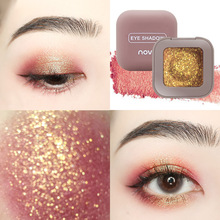 Novo 10 Color Eye Makeup Single High Light Mashed Potato Texture Shimmer Pearl L