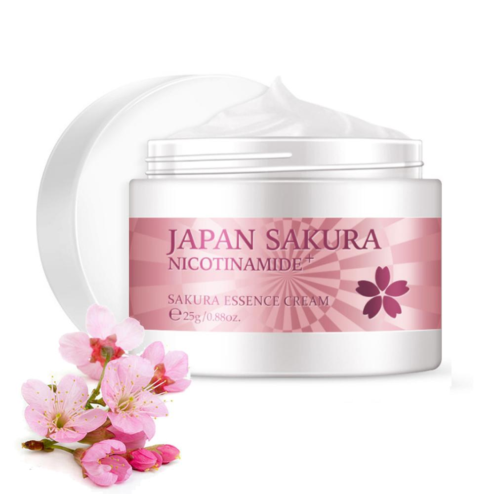 Japan Essence Face Cream For Face Moisturizer Anti Wrinkle Anti Aging Serum Vitamin C Whitening Cream Skin Care 25g