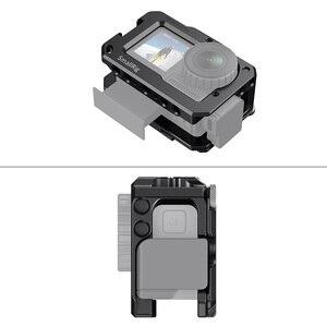 Image 5 - SmallRig Vlog kafesi DJI Osmo eylem (uyumlu w/mikrofon adaptörü) uyumlu w/CYNOVA çift 3.5mm USB C adaptörü 2475