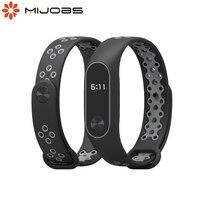 Para Mi Band 2, pulsera, Correa Opaska Miband 2, pulsera deportiva para Mi Smart Band 2 Correas, pulsera de silicona para Xiaomi Xiomi