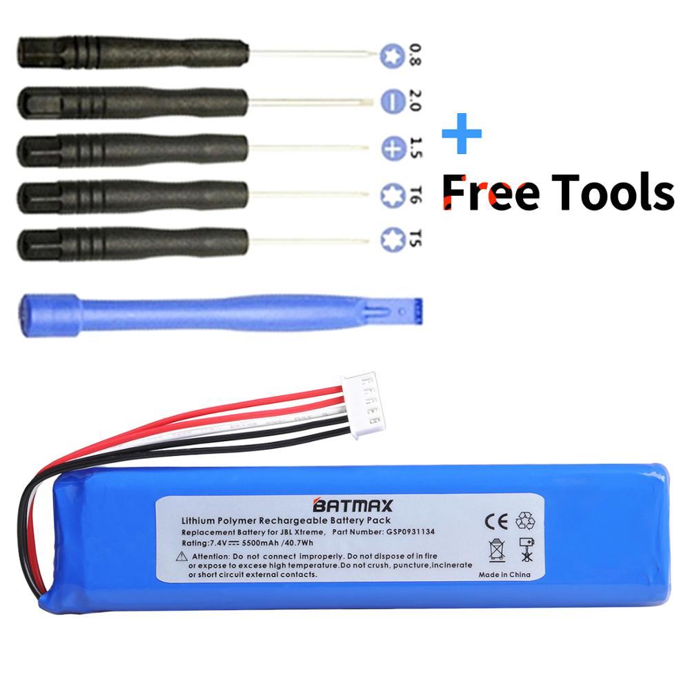 Батарея Batmax для JBL Xtreme Speaker battery GSP0931134 номер отслеживания с установочными инструментами