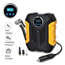 Digital Air Compressor For Car Air Pump Portable Tire Inflator With LED Light 12V Air Compressor Car Tyre Inflator   Compresseur for volvo car 7h15 air conditioner compressor pump with pulley 11104419 11412632 15082742