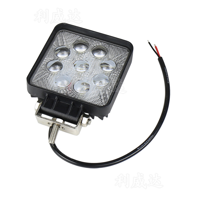The Vectra Square Car Repair 27 W Car Lamp Lens Focusing Floodlight Lamp Led Work Light