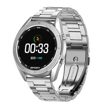 DT99 Smart Watch Sport Waterproof Round HD Screen ECG Detection Changeable Dials Smartwatch Fitness Tracker Men