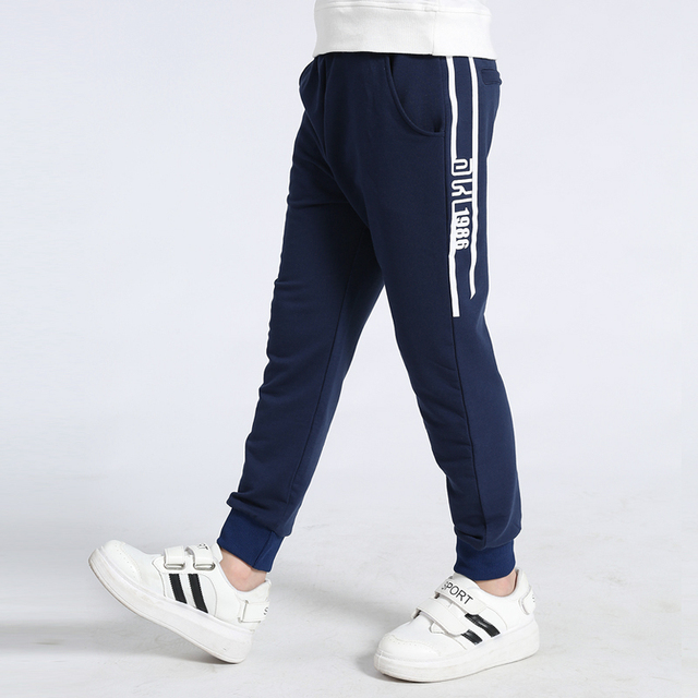 boys track pants 2020 autumn knitted soft loose pants for boys 4-8 8-12 years children pantalones baby trousers 3