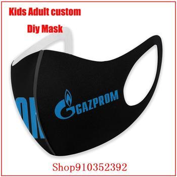 GAZPROM-mascarilla protectora de tela para adultos, máscara facial reutilizable, por metro