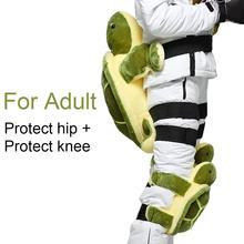 Ailbone защита бедра Анти-осень ударопрочный для катания на лыжах хип-Поддержка Форма черепахи копчик защитная подушка для наружного зимнего катания на лыжах