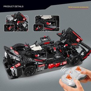 Image 3 - RC Formula Racing Car Model Building Blocks Compatible Technic Series DIY Model Set Toys Power Motor Function Car Bricks Toys
