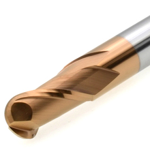 MZG 2 Флейта для резки HRC60 1 мм 2 мм 3 мм 4 мм 6 мм фрезерная обработка Вольфрамовая сталь Sprial фреза сферическая Концевая фреза