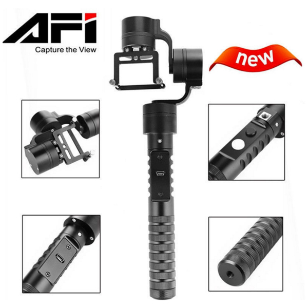 AFI A5 Action Camera Sports Photography Three axis SLR Handheld Steadicam Platform Stabilizer Used In GoPro