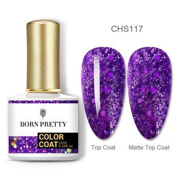 BORN PRETTY Nail Gel 120Colors 10ml Gel Nail Polish Soak Off UV LED Gel Varnish Holographics Shining Nagel Kunst Gellack 11