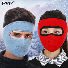 2019 Warm Fleece Bike Half Face Mask Cover Face Hood Protection Cycling Ski Sports Outdoor Winter Neck Guard Scarf Warm Masks цены