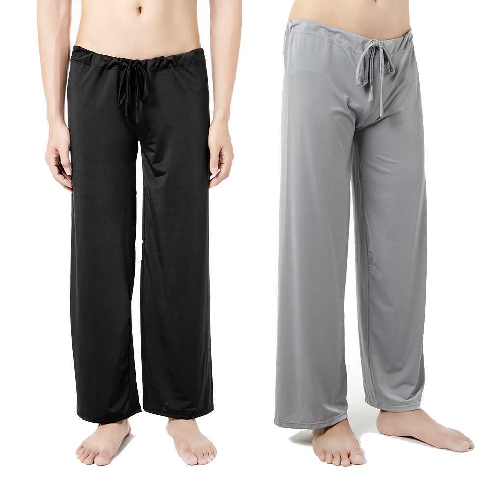 Comfortable Loose Living Lounge Pant Sleep Pants Mens Pajamas Bottoms  Sleepwear Pajama for Men Sleepwear Home Clothing Pajama|Sleep Bottoms| -  AliExpress
