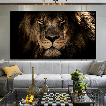 African Large Lions Face Canvas Paintings on the Wall Art Posters And Prints Animals Lions Art Pictures For Living Room Cuadros african large lions face canvas paintings on the wall art posters and prints animals lions art pictures for living room cuadros