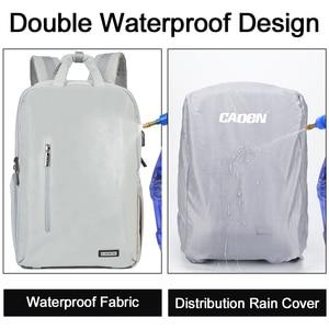 Image 4 - Máy ảnh Caden đựng máy ảnh DSLR Chống nước Ba lô đeo vai Laptop máy ảnh kỹ thuật số & ống kính chụp ảnh hành lý túi dành cho Máy Ảnh Canon Nikon