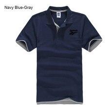 Verão masculino fino manga curta negócios simples e confortável respirável algodão lapela polo 2021new produtos t camisa
