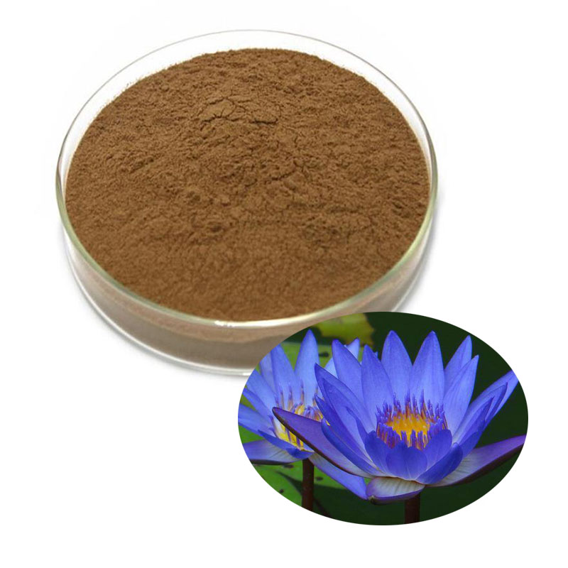 Natural Organic Blue Lotus Extract, Water Lilies, Soothing And Anti-oxidant, Anti-aging 100/500/1000g
