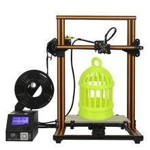 CR-10 diy impressora 3d kit 300*300*400mm tamanho de impressão 1.75mm 0.4mm bocal dua z haste filamento detectar retomar energia fora