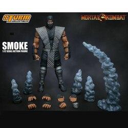 1/12 sturm Rauch Sterblichen Kombats Ninja Exklusive Action Figure Set Sammeln Spielzeug auf lager artikel