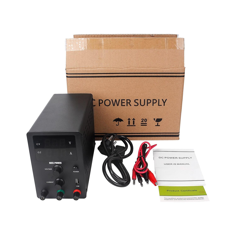 New USB DC Laboratory 60V 5A Regulated Lab Power Supply Adjustable 30V 10A Voltage Regulator Stabilizer Switching Bench Source-4