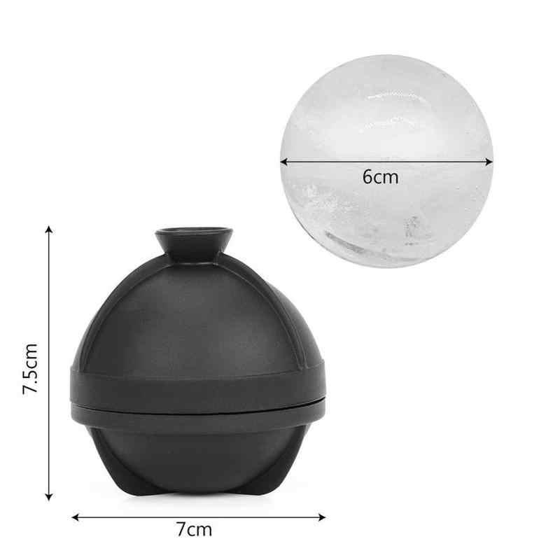 الإبداعية 6 سنتيمتر سيليكون هوكي الجولة ويسكي آيس كيوب قوالب الكرة المطبخ صانع قوالب شريط حفلة المجال صينية أدوات O1N4
