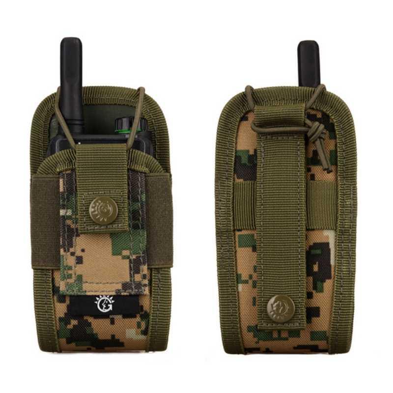 Bolsa de Radio táctica militar Molle, bolsa para Walkie Talkie, bolsa de bolsillo para el ejército, bolsa para caza, revista Mag