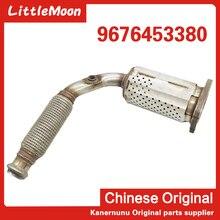 The original new three way catalyst exhaust pipe 9676453380 For Peugeot 2008 301 308 408 Citroen C1 C2 C3 Elyess C4 EC5