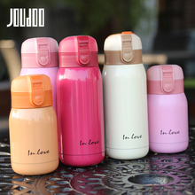 JOUDOO 200/360ml Stainless Steel Vacuum Thermal Insulation Flask Water Bottle Outdoor Sport Camping Car Tour Drinking Bottles 35
