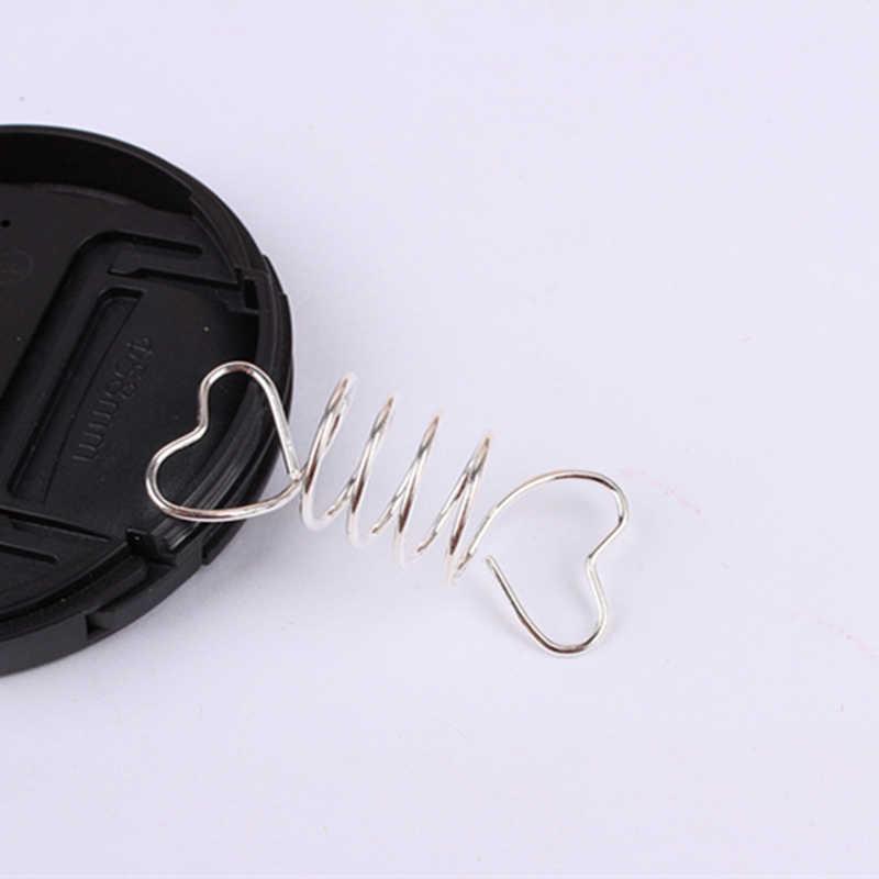 10 piezas de oro plata pelo trenza dreadlock cuentas corazón espiral muelles para accesorios de extensión de dijes de pelo